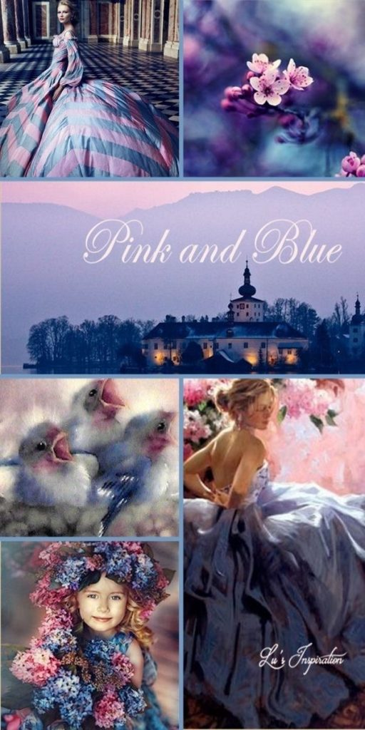 Pink and Blue