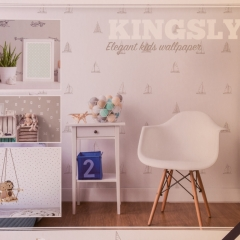 Kingsly - Elegant Kids Wallpaper